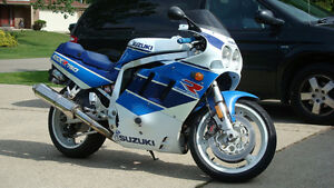 WANTED : 1990 GSXR-750 complete bike or basket case