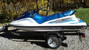 2001 Polaris Virage700 with Trailer.
