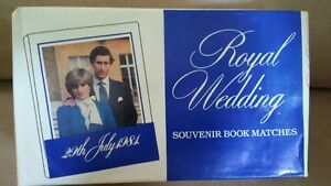 Prince Charles, Lady Diana Royal Wedding Collectables