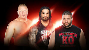 WWE Raw - 2 Tickets - Monday March 13 - Joe Louis Arena