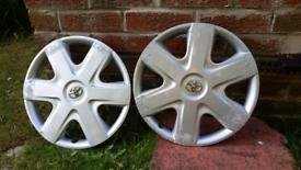Toyota wheel trims