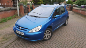 For sale Peugeot 307 S 1.6 petrol 53 plate 5-speed manual