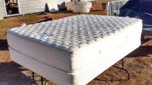 Queen Sealy mattress and box spring