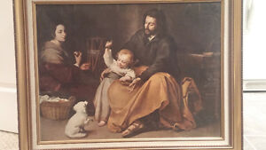 Holy Family by Murillo
