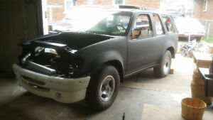 Project Vehicle - 97 Ford Explorer Sport Custom