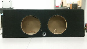 "Bassworx Dual 10"" Ported Truck Sub Box"