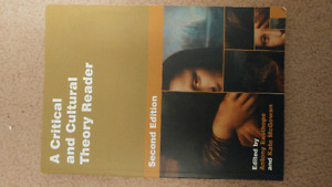 A Critical and Cultural Theory Reader - textbook