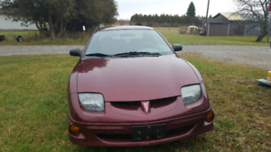 2002 Pontiac Sunfire AS IS