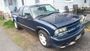 1999 Chevy  S10 Extended Cab Step Side For Sale