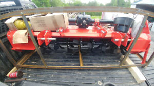 6' Rotavator Rotary Tiller Heavy Duty FOR SALE 3 POINT HITCH