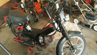 2001 Tomos Moped modified