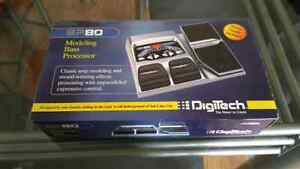 Digitech BP80 BP-80 Multi-Effects Bass Guitar Effects Pedal
