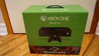 Xbox One 500G avec Gears of wars NEUF AVEC FACTURE