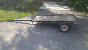 14ft utility trailer 8X4 bed