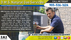 Need Heating or Cooling Services?! - DMS is here to help.