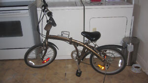 bicycle pliable