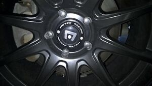 Motegi Black Rims/ Michelin Latitude Tires