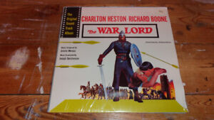 SEALED RECORD ALBUM LP THE WAR LORD SOUND TRACK JEROME MOROSS