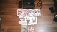 Xbox 360 Black with games