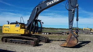 2012 John Deere 250GLC Excavator up for auction