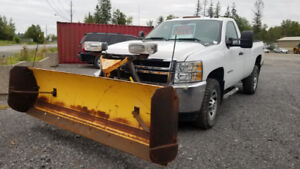 Pickup Truck & Plow For Sale