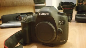 Canon 5D Mark III - body, lenses, accessories