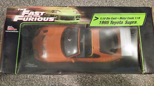 Fast and the Furious 1995 Toyota Supra 1/18 Diecast New in box