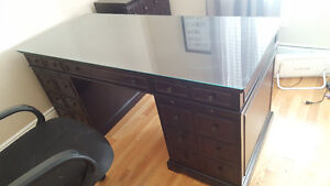 Bombay Company Desk and filing cabinet