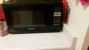 Black Panasonic inverter Microwave