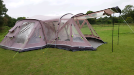Outwell Illinois 6 tent plus awning
