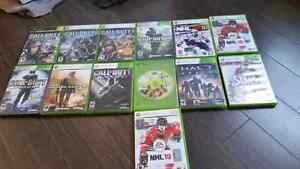 Xbox 360 Games (alot of Call of Duty Games)