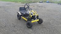 gokart with lawnmower engine trade for,????