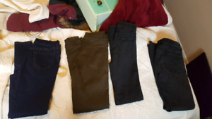 ladies size 6 Jean lot