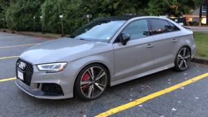 2018 Audi RS3 – 2.5T, 5 Cyl, Factory 400hp! WOW!!