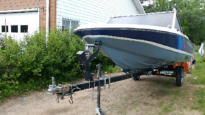 14 foot boat 50 hp mercury