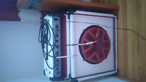 Custom spider amp with cables