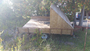 Double Bed Snowmobile Trailer For Sale