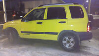 2003 Chevrolet Tracker 4x4 PRICED TO SELL
