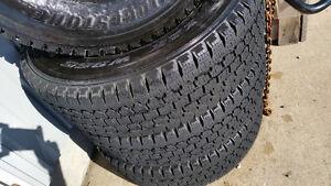 4 pneus -lt 245 70 r17,d hiver Bridgestone blizake( 10 plies ) Lac-Saint-Jean Saguenay-Lac-Saint-Jean image 7