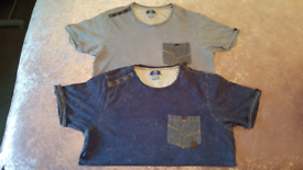 Mens Smith and Jones t-shirts size small vgc