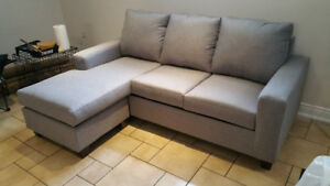 Made in Canada Brand New Condo Size Sectional - Super Comfy