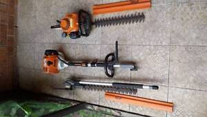 Stihl hedge trimmer, kombi engine and extension Southport Gold Coast City Preview