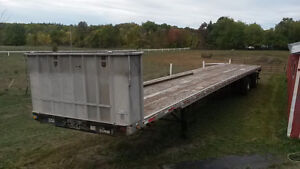 53' Lode King Flatbed Trailer Peterborough Peterborough Area image 2