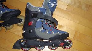 super patin a roue alignée