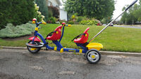 Tricycle tandem Kettler