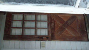 Antique Natural & White Painted Doors from 1700's Farmhouse. London Ontario image 8