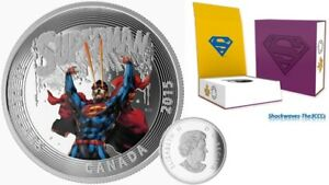2015 Silver $20 Iconic Comic Book Covers Superman #28  1oz Coin
