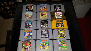 Selling some N64 and SNES Games