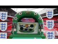 3 in 1 bouncy castle penalty shootout adult castle 15x15 foot