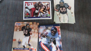Mike Singletary NFL cards(7)